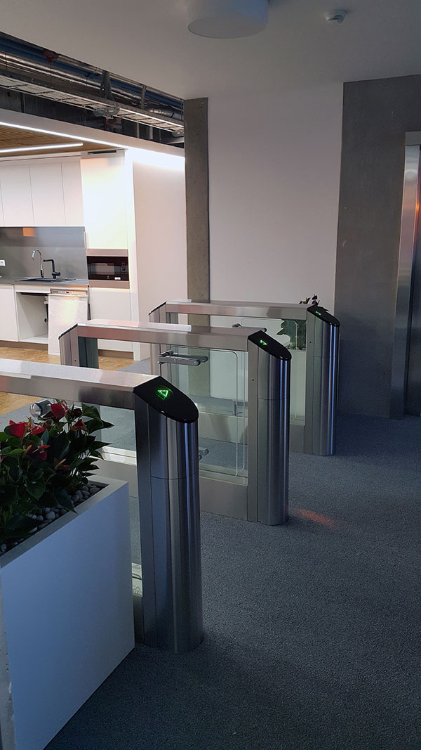 oxgard speedgates at transferwise office 3