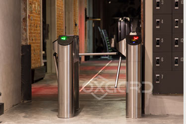 Turnstile T-02, fitness-club Sectzia, Moscow