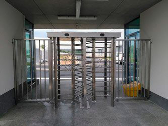 Turnstiles Praktika Т-10H double Hyundai Motors, Mošnov, Czech Republic